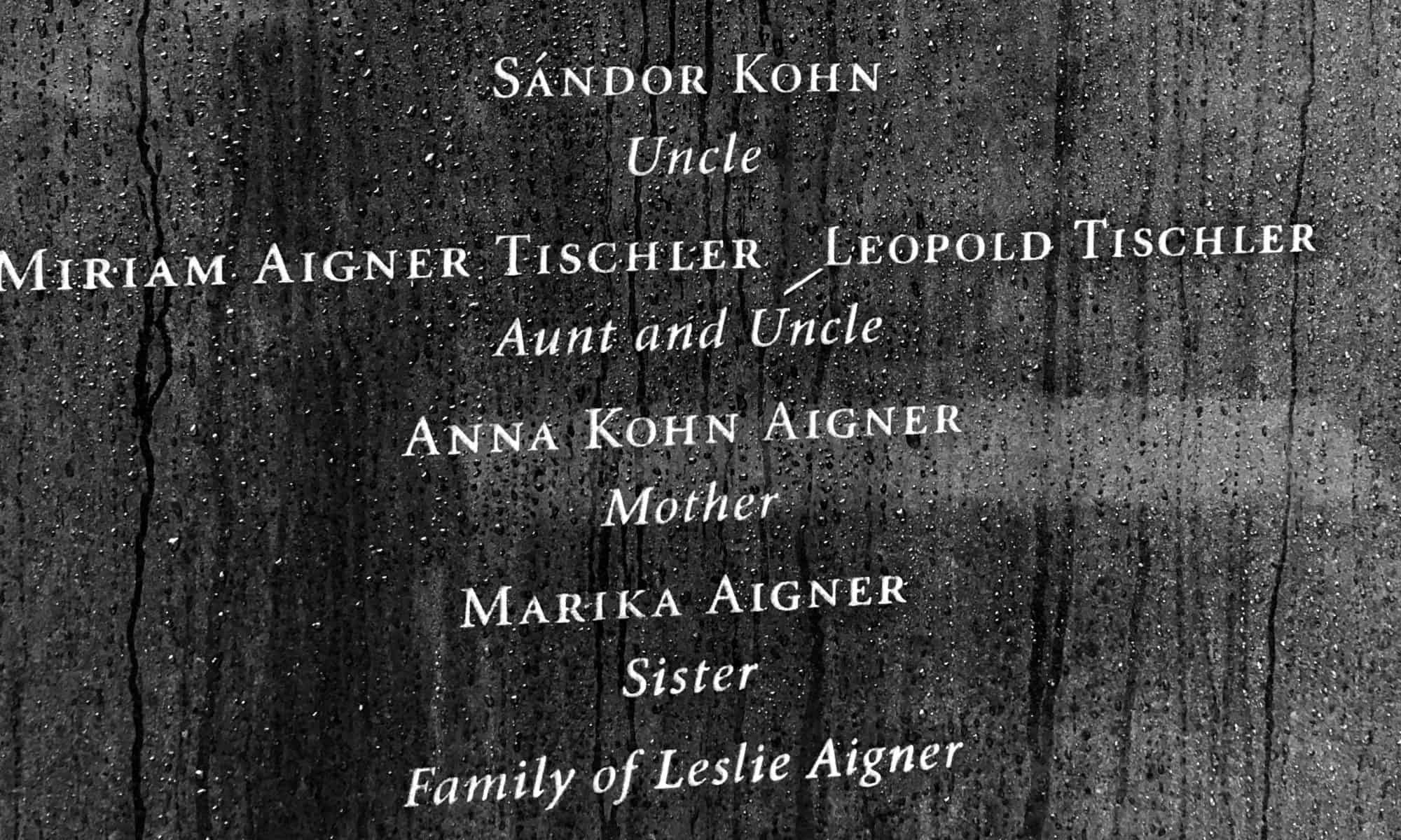 Les Aigner family lost
